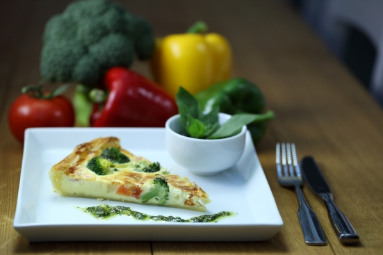 quiche and pesto1